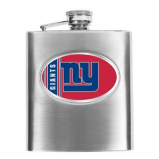 New York Giants Stainless Steel Hip Flask