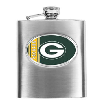 Green Bay Packers Stainless Steel Hip Flask