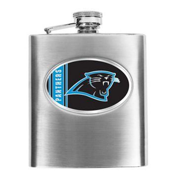 Carolina Panthers Stainless Steel Hip Flask