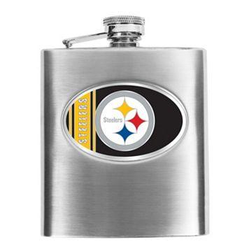 Pittsburgh Steelers Stainless Steel Hip Flask