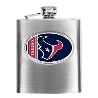 Houston Texans 6-Ounce Stainless Steel Hip Flask