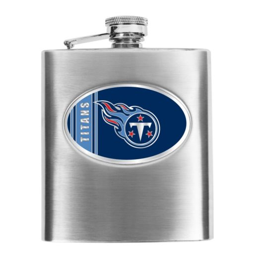 Tennessee Titans Stainless Steel Hip Flask