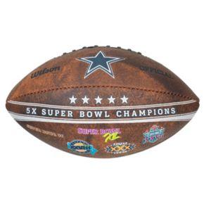 "Dallas Cowboys Commemorative Championship 9"" Football"