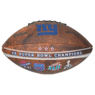 New York Giants Commemorative Championship 9'' Football