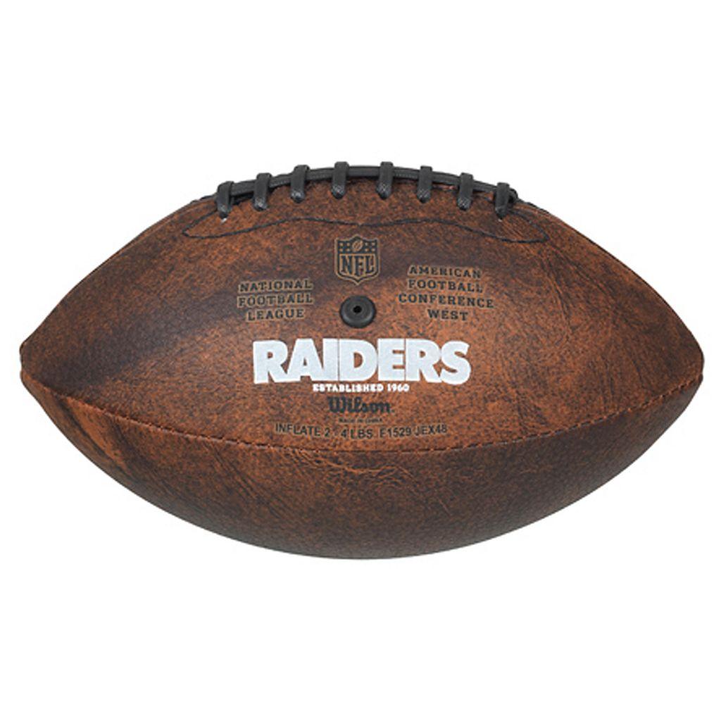 Oakland Raiders Commemorative Championship 9'' Football