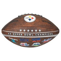 Pittsburgh Steelers Commemorative Championship 9' Football