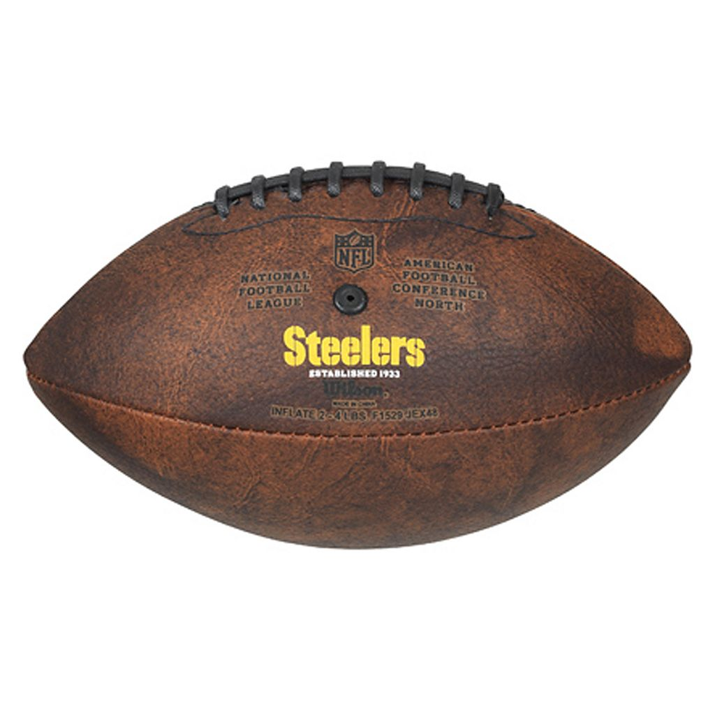 Pittsburgh Steelers Commemorative Championship 9'' Football