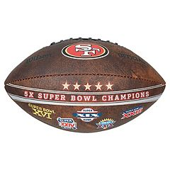 San Francisco 49ers Commemorative Championship 9' Football