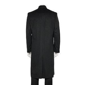 Men's Jean-Paul Germain Classic-Fit 45-in. Wool-Blend Top Coat