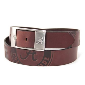 Men's Alabama Crimson Tide Brandish Leather Belt