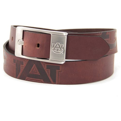 Men's Auburn Tigers Brandish Leather Belt