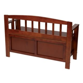 Office Star Products Metro Entryway Storage Bench