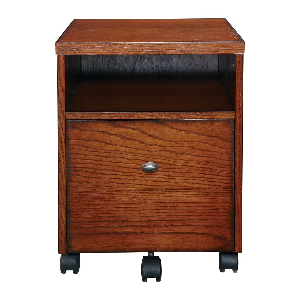 Office Star Products Aurora Mobile File Cart