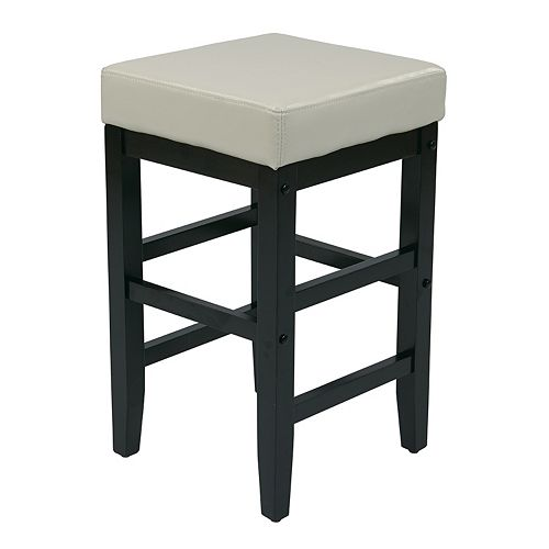 OSP Home Furnishings 25-in. Square Stool
