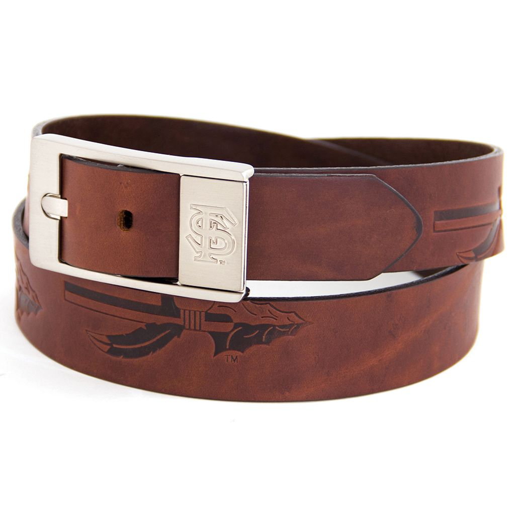 Men's Florida State Seminoles Brandish Leather Belt