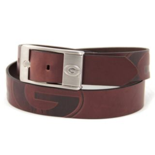 Men's Georgia Bulldogs Brandish Leather Belt