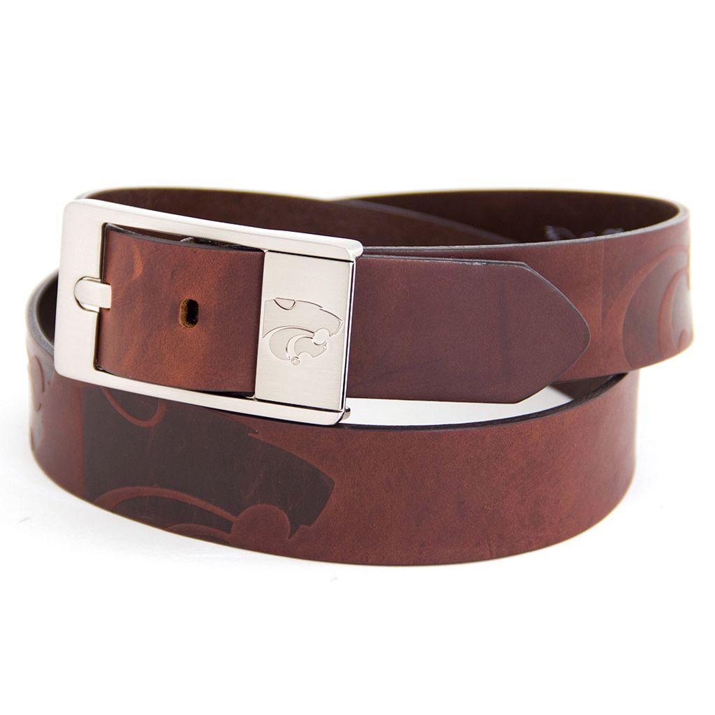 Men's Kansas State Wildcats Brandish Leather Belt