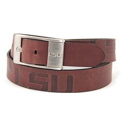 Men's LSU Tigers Brandish Leather Belt