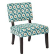 Office Star Products Accents Maze Jasmine Accent Chair