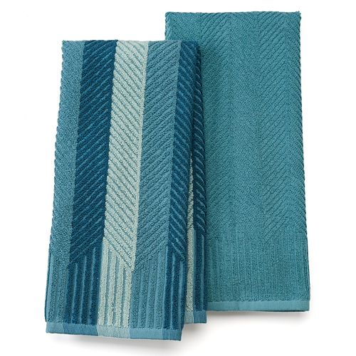 Food Network™ Sculpted Kitchen Towel 2-pack
