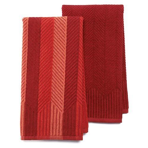 Food Network™ 2-pk. Sculpted Kitchen Towels