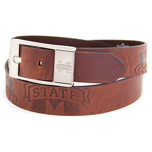 Men's Mississippi State Bulldogs Brandish Leather Belt