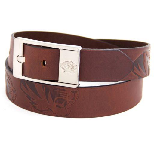 Men's Missouri Tigers Brandish Leather Belt
