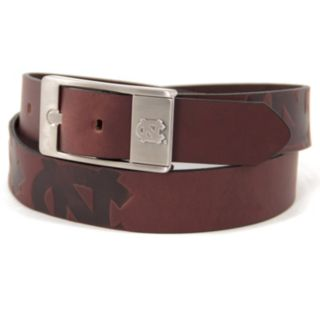 Men's North Carolina Tar Heels Brandish Leather Belt