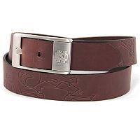 Men's Notre Dame Fighting Irish Brandish Leather Belt