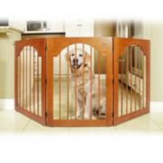 Majestic Pet Universal Free-Standing Wood Pet Gate