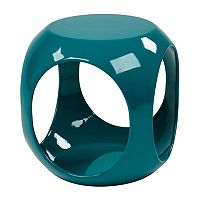 Avenue Six Slick Cube End Table