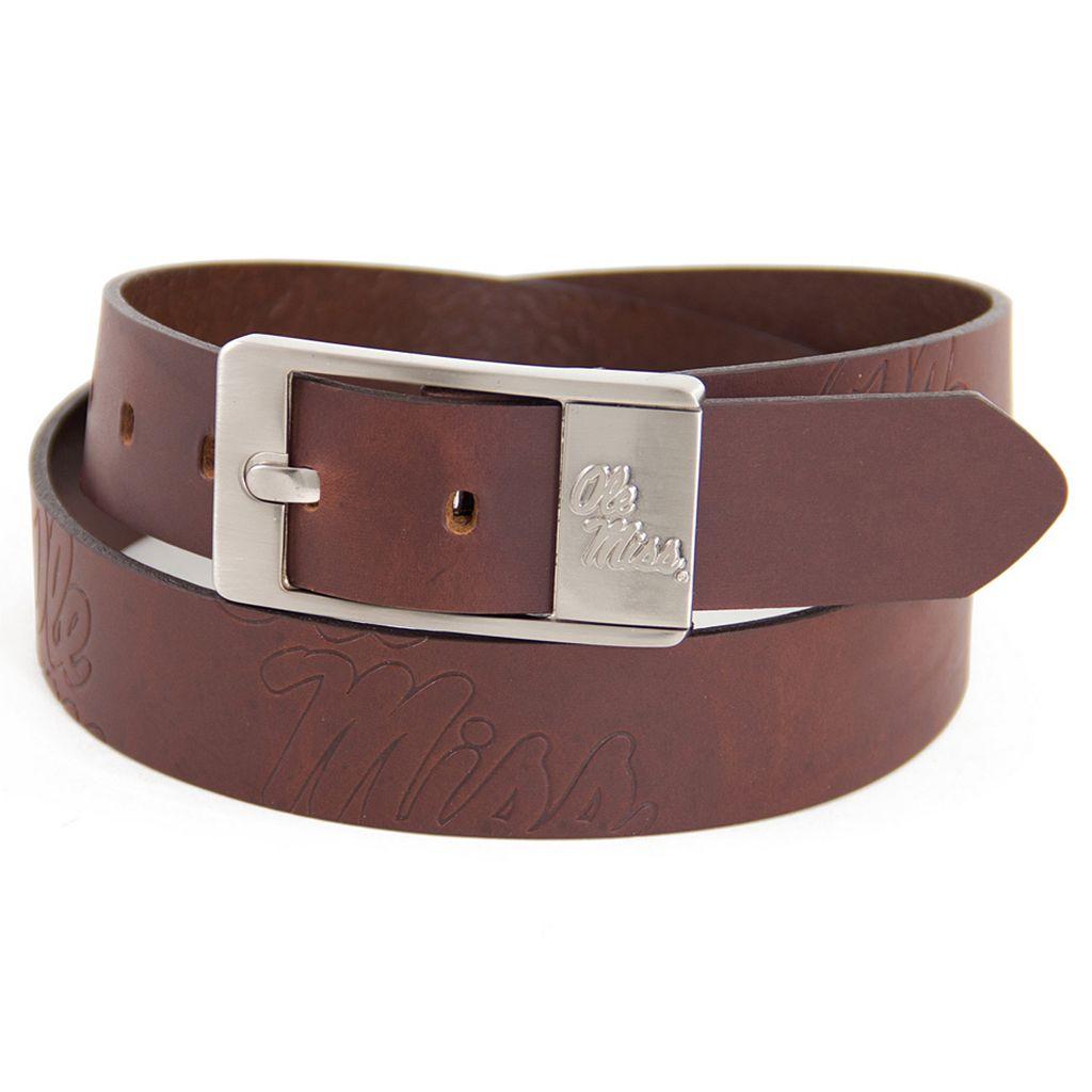 Men's Ole Miss Rebels Brandish Leather Belt