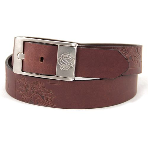 Men's South Carolina Gamecocks Brandish Leather Belt