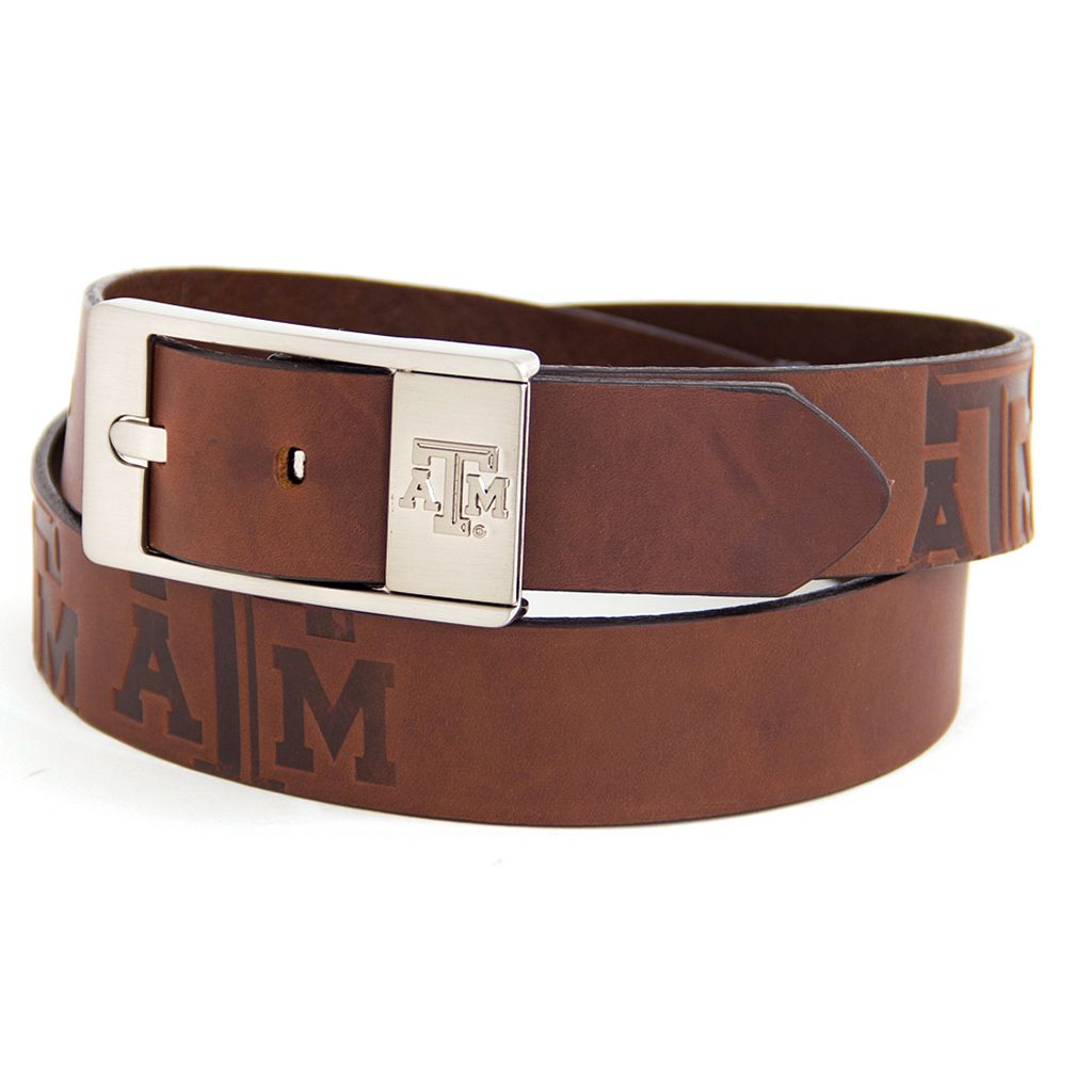 Men's Texas AandM Aggies Brandish Leather Belt