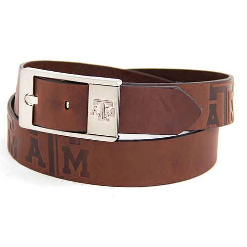 Men's Texas AandM Aggies Brandish Leather Belt