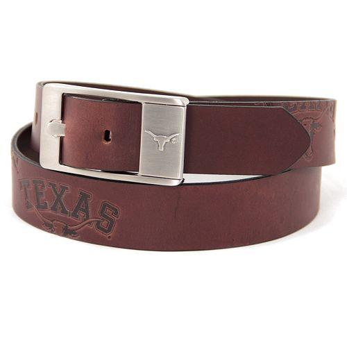 Men's Texas Longhorns Brandish Leather Belt