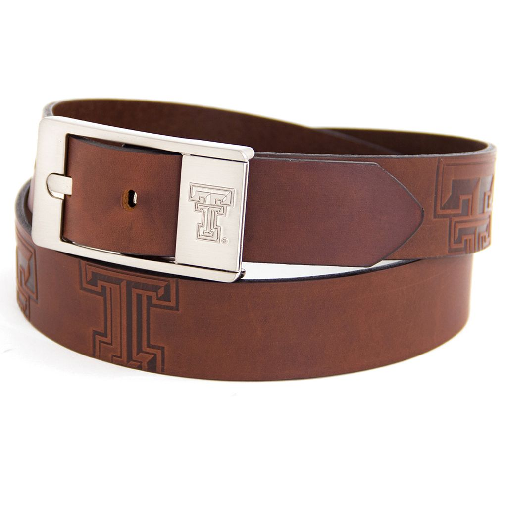 Men's Texas Tech Red Raiders Brandish Leather Belt