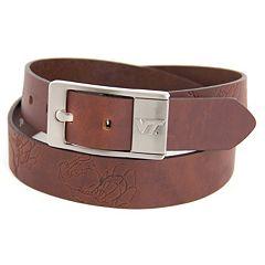 Men's Virginia Tech Hokies Brandish Leather Belt