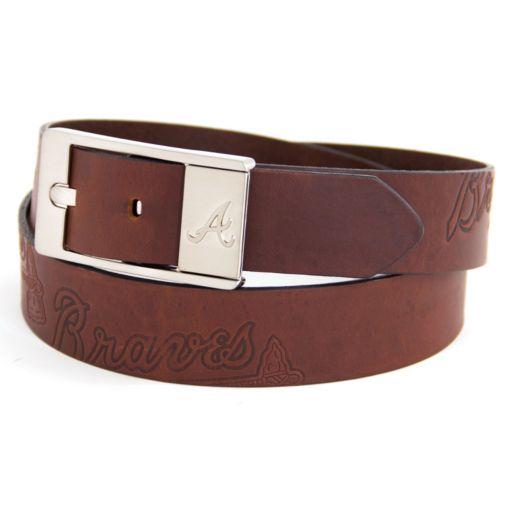 Men's Atlanta Braves Brandish Leather Belt