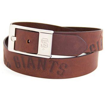 Men's San Francisco Giants Brandish Leather Belt