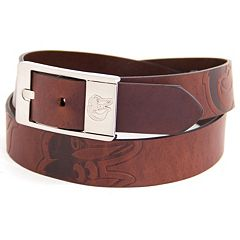 Men's Baltimore Orioles Brandish Leather Belt