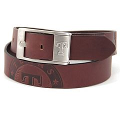 Men's Texas Rangers Brandish Leather Belt