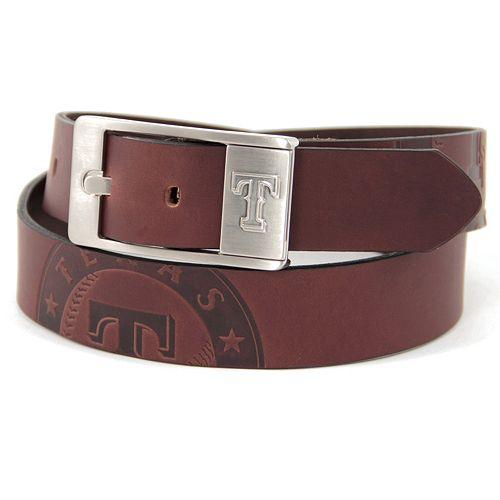 Men's Texas Rangers Brandish Leather Belt