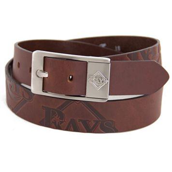 Men's Tampa Bay Rays Brandish Leather Belt