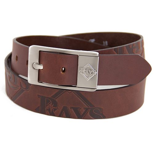 Men's Tampa Bay Rays Brandish Leather Belt