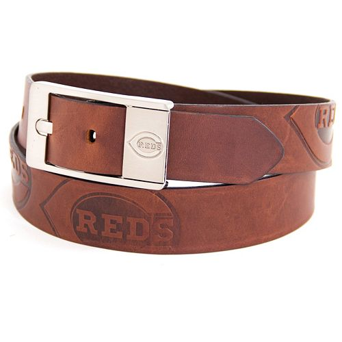 Men's Cincinnati Reds Brandish Leather Belt