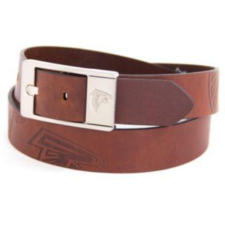 Men's Atlanta Falcons Brandish Leather Belt