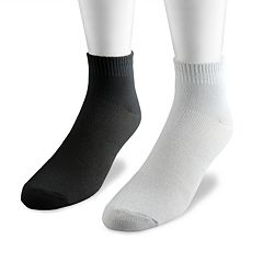 Men's MUK LUKS 4-pk. Athletic Quarter Socks