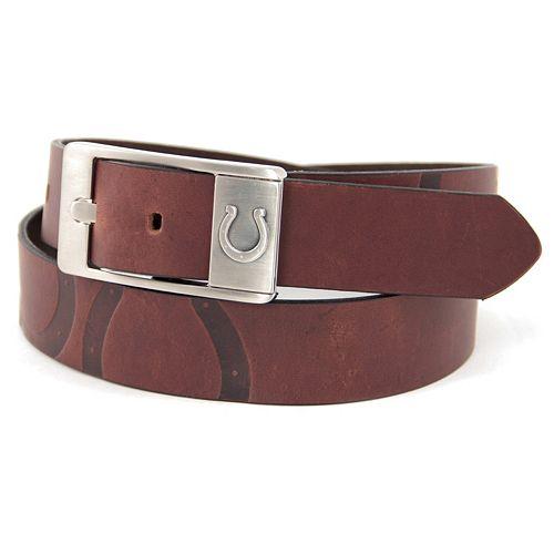 Men's Indianapolis Colts Brandish Leather Belt