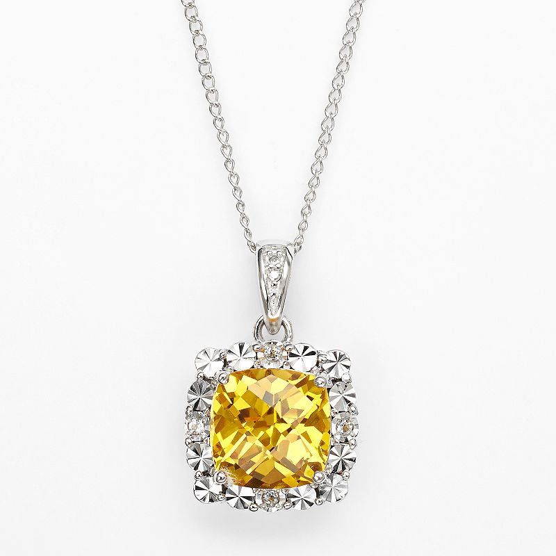 yellow sapphire necklace - photo #18